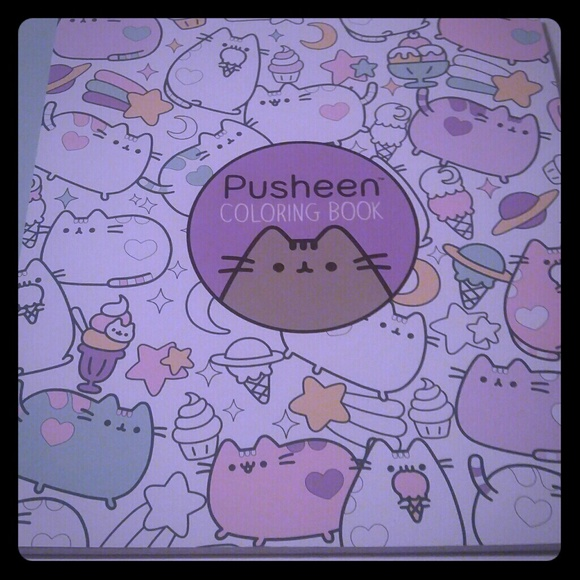 Pusheen Other Free Pusheen Coloring Book Free Shipping Poshmark